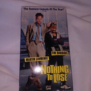 VHS NOTHING TO LOSE 1998 Vintage Comedy Film